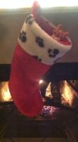 First Christmas stocking.