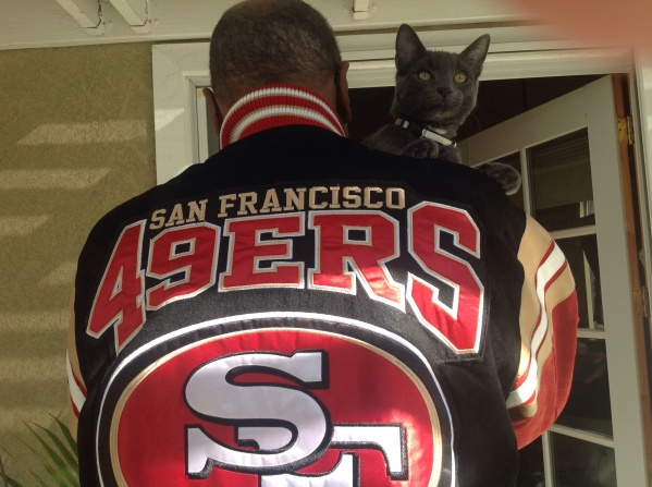 Nothing like being a 49er Cat.